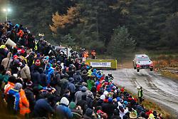 October 28, 2016 - PAYS GALLES - Dani Sordo (ESP) / Marc Marti (ESP)- Hyundai I20 WRC. (Credit Image: © Panoramic via ZUMA Press)