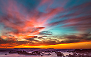 Cameo Shores Sunset in Newport Beach California
