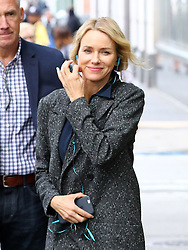 September 28, 2016 - New, York, New York, U.S. - Actress NAOMI WATTS on the Greenwich Village set of the new TV show 'Gypsy' the day after Naomi and Liev Schreiber announced they are ending their relationship of 11 years. (Credit Image: © Zelig Shaul/Ace Pictures via ZUMA Press)