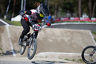 #888 (ROJAS Anna Sara) BOL during practice at Round 5 of the 2018 UCI BMX Superscross World Cup in Zolder, Belgium