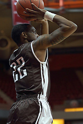 29 December 2014:  Jordan Wilson during an NCAA non-conference interdivisional exhibition game between the Quincy University Hawks and the Illinois State University Redbirds at Redbird Arena in Normal Illinois.
