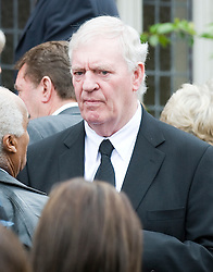 © licensed to London News Pictures. 18/05/2011. Tonbridge, UK. Lorrie McMenamy at the funeral of heavyweight boxing legend Sir Henry Cooper at Corpus Christi Church in Lyons Crescent, Tonbridge, Kent today (18/05/2011).  Please see special instructions for usage rates. Photo credit should read Ben Cawthra/LNP