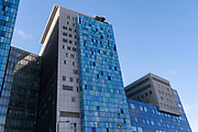 As the national coronavirus lockdown three continues the Royal London Hospital in Whitechapel has become one of the main hospitals in London dealing with Covid-19 patients at the heart of the NHS battle against the pandemic on 29th January 2021 in London, United Kingdom.