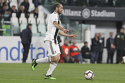 May 3, 2019 - Turin, Piedmont, Italy - Giorgio Chiellini (Juventus FC) during the Serie A football match between Juventus FC and Torino FC at Allianz Stadium on May 03, 2019 in Turin, Italy..Final results: 1-1. (Credit Image: © Massimiliano Ferraro/NurPhoto via ZUMA Press)
