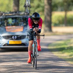 13-09-2020: Wielrennen: NK tijdrijden nieuwelingen en junioren: Chaam <br />Laura Molenaar