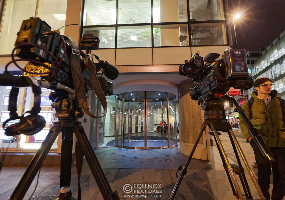 London, United Kingdom - 23 March 2018<br /> The Information Commissioner's Office executes a search warrant on Cambridge Analytica, 55 New Oxford Street, London, England, UK, Europe.<br /> www.newspics.com/#!/contact<br /> (photo by: EQUINOXFEATURES.COM)<br /> Picture Data:<br /> Photographer: Equinox Features<br /> Copyright: ©2018 Equinox Licensing Ltd. +448700 780000<br /> Contact: Equinox Features<br /> Date Taken: 20180323<br /> Time Taken: 19262773