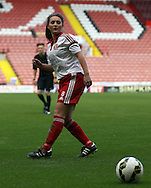 Sheffield United Ladies' Jodie Hartley in action during the FA Women's Cup First Round match at Bramall Lane Stadium, Sheffield. Picture date: December 4th, 2016. Pic Clint Hughes/Sportimage