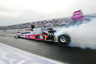 Top fuel racing at Pomona Raceway..Shirley Muldowney's last run in a top fuel dragster.