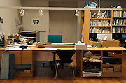 studio of children book illustrator and artist Eric Carle 2005