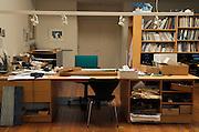studio of children book illustrator and artist Eric Carle 2005