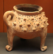Pottery brazier Mycenaean, 1400-1200BC. Found in Tomb A, lalyaos, Rhodes.