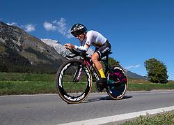 25.09.2018, Innsbruck, AUT, UCI Straßenrad WM 2018, Einzelzeitfahren, Elite, Damen, von Hall/Wattens nach Innsbruck (27,8 km), im Bild Trixi Worrack (GER) // Trixi Worrack of Germany during the Womens Elite Individual time trial from Hall/Wattens to Innsbruck (27,8 km) of the UCI Road World Championships 2018. Innsbruck, Austria on 2018/09/25. EXPA Pictures © 2018, PhotoCredit: EXPA/ Reinhard Eisenbauer