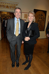LONDON, ENGLAND 28 NOVEMBER 2016: The Earl & Countess Alexander of Tunis at a reception to celebrate the publication of The Sovereign Artist by Christopher Le Brun and Wolf Burchard held at the Royal Academy of Art, Piccadilly, London, England. 28 November 2016.