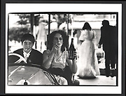 Couple in bumping car. Worcester May Ball. Oxford. 24 June 1981Exhibition in a Box
