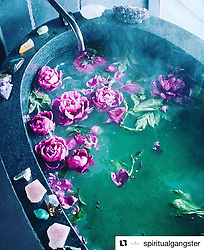 """Alicia Keys releases a photo on Instagram with the following caption: """"Wow... this isn't my bath, but I want it to be so badly! I'm inspired!! \ud83d\ude0d\ud83d\ude0d\ud83d\ude0d #Repost @spiritualgangster\n\u30fb\u30fb\u30fb\nReset, recharge, then take on your week like a gangster \ud83c\udf38\ud83d\udcaa#sundayritual #raiseyourvibration #spiritualgangster \ud83d\udec1: @mamamedicine"""". Photo Credit: Instagram *** No USA Distribution *** For Editorial Use Only *** Not to be Published in Books or Photo Books ***  Please note: Fees charged by the agency are for the agency's services only, and do not, nor are they intended to, convey to the user any ownership of Copyright or License in the material. The agency does not claim any ownership including but not limited to Copyright or License in the attached material. By publishing this material you expressly agree to indemnify and to hold the agency and its directors, shareholders and employees harmless from any loss, claims, damages, demands, expenses (including legal fees), or any causes of action or allegation against the agency arising out of or connected in any way with publication of the material."""
