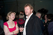 JANE THYNNE; SEBASTIAN FAULKS, Party for Perfect Lives by Polly Sampson. The 20th Century Theatre. Westbourne Gro. London W11. 2 November 2010. -DO NOT ARCHIVE-© Copyright Photograph by Dafydd Jones. 248 Clapham Rd. London SW9 0PZ. Tel 0207 820 0771. www.dafjones.com.