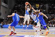 DESCRIZIONE : Beko Legabasket Serie A 2015- 2016 Dinamo Banco di Sardegna Sassari - Enel Brindisi<br /> GIOCATORE : MarQuez Haynes<br /> CATEGORIA : Tiro Tre Punti Three Point<br /> SQUADRA : Dinamo Banco di Sardegna Sassari<br /> EVENTO : Beko Legabasket Serie A 2015-2016<br /> GARA : Dinamo Banco di Sardegna Sassari - Enel Brindisi<br /> DATA : 18/10/2015<br /> SPORT : Pallacanestro <br /> AUTORE : Agenzia Ciamillo-Castoria/C.Atzori