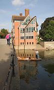Jerwood library at Trinity College, University of Cambridge, Freeland Rees Roberts Architects opened 1999, Cambridge, England