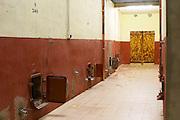 Domaine d'Antugnac. Limoux. Languedoc. Concrete fermentation and storage vats. France. Europe.