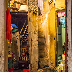 Getting lost in Hoàn Kiếm's narrow alleys is the only way to explore the hidden gems of Hanoi. Which is basically its chaos. All kind of shops line a narrow alley offering bits and pieces, whilst the local still dwell upstairs. It's a miracle how the Hanoians are capable to value the little space that is given to them. Especially to keep an overview on their stocks.