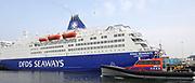 Koningin Máxima heeft in IJmuiden de Nh1816, een nieuw type reddingboot van de Koninklijke Nederlandse Redding Maatschappij (KNRM) gedoopt.<br /> <br /> Queen Máxima has inaugurated in IJmuiden Nh1816, a new type of lifeboat of the Royal Dutch Rescue Organisation (KNRM).<br /> <br /> Op de foto / On the photo:  Koningin Maxima vaart mee met de Nh1816, een nieuw type reddingboot van de Koninklijke Nederlandse Redding Maatschappij (KNRM).<br /> <br /> Queen Maxima on board of the Nh1816, a new type of lifeboat of the Royal Dutch Rescue Organisation (KNRM).