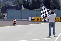 17.07.2010, Sachsenring, GER, MotoGP, Deutschland Grand Prix 2010, im Bild Dani Pedrosa - Repsol Honda team. EXPA Pictures © 2010, PhotoCredit: EXPA/ InsideFoto/ Semedia +++ ATTENTION - FOR AUSTRIA AND SLOVENIA CLIENT ONLY +++ / SPORTIDA PHOTO AGENCY