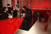 Established and Sons celebrate the launch of a Red Production 'Aqua Table' by Zaha Hadid. ( Profits from Sales will go to Red Campaign HIV treatment in Africa) Grosvenor Place. London. 23 September 2006.  ONE TIME USE ONLY - DO NOT ARCHIVE  © Copyright Photograph by Dafydd Jones 66 Stockwell Park Rd. London SW9 0DA Tel 020 7733 0108 www.dafjones.com