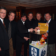 10 Jarig bestaan Lowland, Hugo Hovenkamp, Albert West en Rene van de Kerkhof, directie