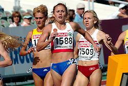 11-08-2006 ATLETIEK: EUROPEES KAMPIOENSSCHAP: GOTHENBURG <br /> Tomashova, Tatyana (RUS), Chizhenko, Yuliya (RUS) op de 1500 meter<br /> ©2006-WWW.FOTOHOOGENDOORN.NL