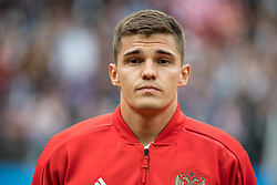 June 14, 2018 - Moscow, Russia - 180614 Roman Zobnin of Russia prior the FIFA World Cup group stage match between Russia and Saudi Arabia on June 14, 2018 in Moscow..Photo: Petter Arvidson / BILDBYRN / kod PA / 92065 (Credit Image: © Petter Arvidson/Bildbyran via ZUMA Press)