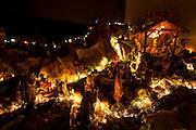 Belo Horizonte_MG, Brasil...Presepio na casa de uma familia...The Christmas crib in a family house...Foto: LEO DRUMOND / NITRO