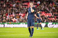 England (8) Eric Dier during the Friendly match between England and Germany at Wembley Stadium, London, England on 10 November 2017. Photo by Sebastian Frej.