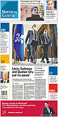 April 01, 2021 (CANADA): Front-page: Today's Newspapers In Canada