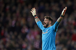 February 10, 2019 - Bilbao, Vizcaya, Spain - Iago Herrerin of Athletic during the week 23 of La Liga between Athletic Club and FC Barcelona at San Mames stadium on February 10 2019 in Bilbao, Spain. (Credit Image: © Jose Breton/NurPhoto via ZUMA Press)