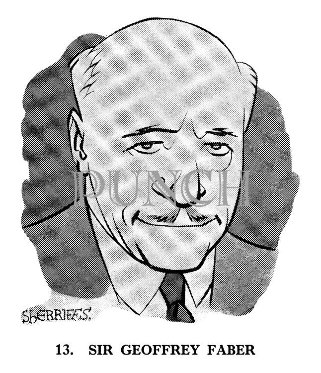 These Looks Speak Volumes 13. Sir Geoffrey Faber