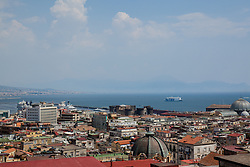 July 31, 2018 - Naples, Campania, Italy - Summer Session 2018 in Naples, Italy July 30,2018, panoramic street Vittorio Emanuele  (Credit Image: © Paolo Manzo/NurPhoto via ZUMA Press)