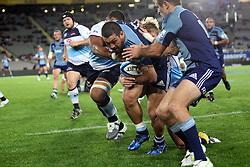 Jerome Kaino. Investec Super Rugby - Blues v Waratahs, Eden Park, Auckland, New Zealand. Saturday 16 April 2011. Photo: Clay Cross / photosport.co.nz