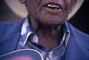 Blues musician Jack Owens, Clarksdale, MS