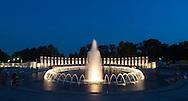 World War II Memorial in Washington DC, Maryland. Photo: Ben Krause