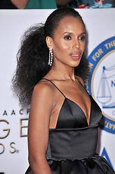 Kerry Washington at The 49th NAACP Image Awards held at the Pasadena Civic Auditorium on January 15, 2018 in Pasadena, CA, USA (Photo by Sthanlee B. Mirador/Sipa USA)