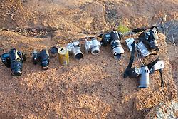 Cameras to Take Team Photo