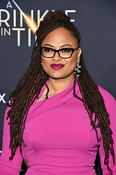 Ava DuVernay attends the premiere of Disney's 'A Wrinkle In Time' at the El Capitan Theatre on February 26, 2018 in Los Angeles, California. Photo by Lionel Hahn/AbacaPress.com