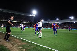 26 April 2017 - Premier League - Crystal Palace v Tottenham Hotspur - Dele Alli of Tottenham Hotspur makes a run down the wing at Selhurst Park - Photo: Marc Atkins / Offside.
