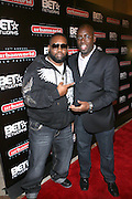 """l to r: Raekwon and Stacy Spikes, founder, Urbanworld Film Festival,  at the 12th Annual  Urbanworld Film Festival screening of """"Tennessee""""  held in NYC at the AMC Loews Theater on September 12, 2008..The Urbanworld  Film Festival is dedicated to showcasing the best of urban independent film.."""
