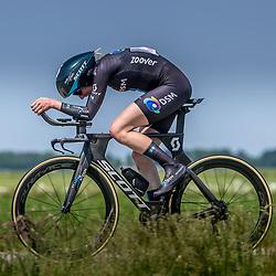 EMMEN (NED) June 16: <br />CYCLING <br />Dutch Nationals Time Trail Women Elite Esmee Peperkamp