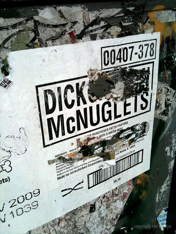Dick McNuggets ad