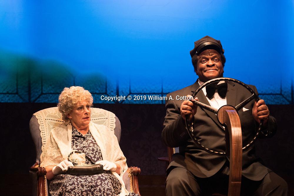 "The Bas Bleu Theatre Company rehearses its production of ""Driving Miss Daisy,"" September 18, 2019."