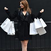 Fashionista attend London Fashion Week Festival last day at 180 Strand, London, UK. 23 September 2018.