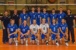 12-09-2010 VOLLEYBAL: EK KWALIFICATIE NEDERLAND - ESTLAND: ROTTERDAM<br /> Teamfoto Estland EST<br /> ©2010-WWW.FOTOHOOGENDOORN.NL / Peter Schalk