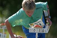 Orientering, 21. juni 2002. NM sprint. Øystein Sørensen, Eiker.